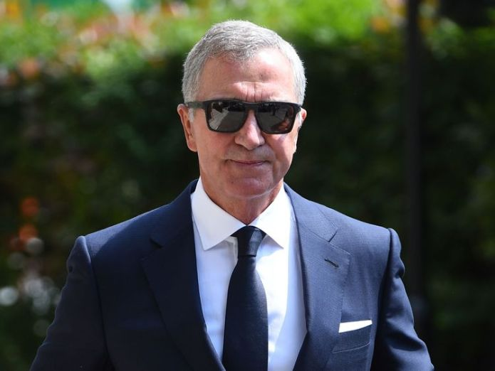 Graeme Souness arrives at Old Church for the funeral David Walliams and Graeme Souness among mourners at service David Walliams and Graeme Souness among mourners at service skynews dale winton graeme souness 4317346