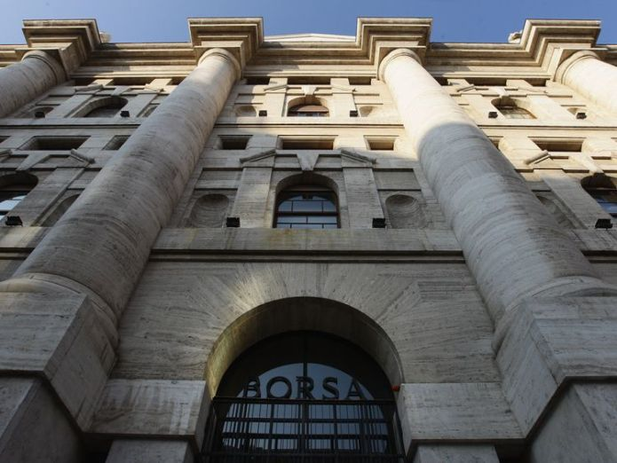 A general view of Palazzo Mezzanotte, head office of the Borsa Italiana (Milan Stock Exchange) on November 17, 2011 in Milan, Italy. Why markets are fretting over Italy's coalition Why markets are fretting over Italy's coalition skynews italy stock market 4313779
