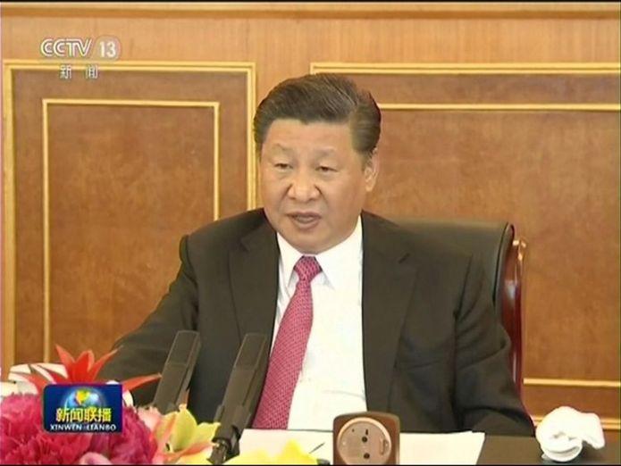 Kim Jong Un meets Xi Jinping kim jong un meets president xi jinping in china Kim Jong Un meets President Xi Jinping in China skynews kim jong un xi jinping 4303922