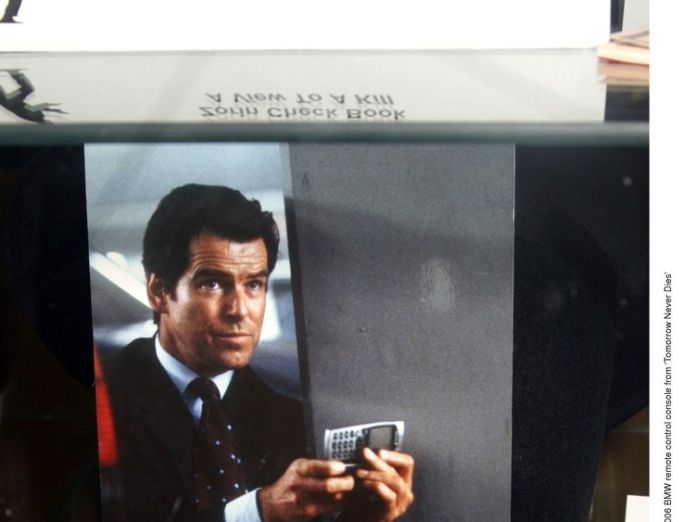 2006: BMW remote control console from 'Tomorrow Never Dies'