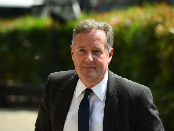 Piers Morgan arrives at Old Church David Walliams and Graeme Souness among mourners at service David Walliams and Graeme Souness among mourners at service skynews piers morgan dale winton 4317365
