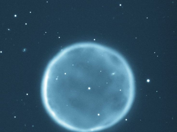 A picture of a planetary nebula taken in 1997. Pic: TA Rector and BA Wolpa