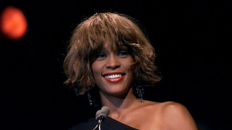 Whitney Houston died in 2012 at the age of 48