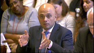 Sajid Javid answers Windrush questions from MPs