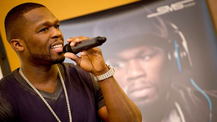 US rapper Curtis '50cent' Jackson speaks at the launch of his headphone range from SMS audio at the 52nd edition of the 'IFA' trade fair in Berlin on August 30, 2012. IFA, the world's largest consumer electronics and home appliances fair opens to the public from August 31st to September 5, 2012.AFP PHOTO / ODD ANDERSEN (Photo credit should read ODD ANDERSEN/AFP/GettyImages) Shootings in the history of rap Shootings in the history of rap skynews fifty cent curtis jackson 4340490