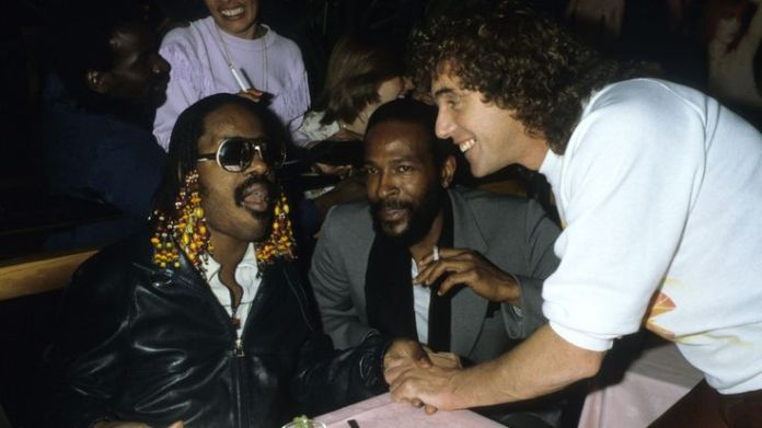 Stevie Wonder & Marvin Gaye Talk to Peter Stringfellow at Stringfellows where they performed a late night set finishing at 5am, 1981 Stringfellow on sex, Thatcher and Stephen Hawking Stringfellow on sex, Thatcher and Stephen Hawking skynews peter stringfellow 4329967