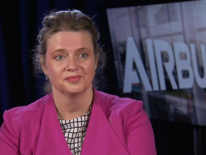 Airbus senior vice president Katherine Bennett  'No-deal' Brexit would be 'chaos at the borders' 'No-deal' Brexit would be 'chaos at the borders' skynews airbus bennett katherine 4342688