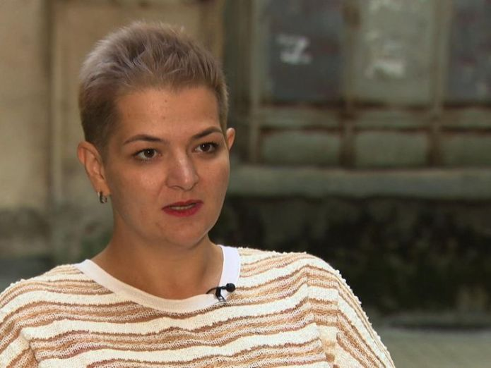 Aleksandra Krylenkova from the civil rights group Memorial russian Russian intelligence agency FSB accused of torturing suspects with electric shocks skynews aleksandra krylenkova 4337301