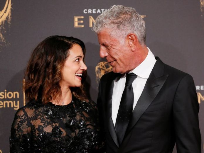 Bourdain's partner Asia Argento says she is 'beyond devastated' Tributes paid to TV chef who 'broke the mould' Tributes paid to TV chef who 'broke the mould' skynews asia argento bourdain 4331594