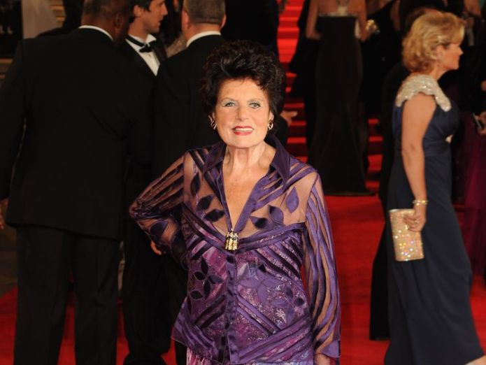 LONDON, ENGLAND - OCTOBER 23: Eunice Gayson attends the Royal World Premiere of 'Skyfall' at the Royal Albert Hall on October 23, 2012 in London, England. (Photo by Eamonn McCormack/Getty Images)  First Bond girl Eunice Gayson dies aged 90 First Bond girl Eunice Gayson dies aged 90 skynews eunice gayson bond 4331865
