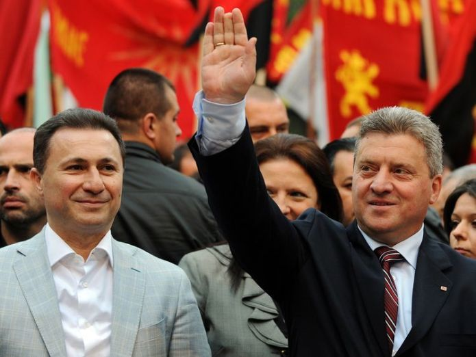 The Macedonian president Gjorge Ivanov is refusing to sign the agreement President rejects renaming Macedonia amid protests President rejects renaming Macedonia amid protests skynews gjorge ivanov macedonia 4335553