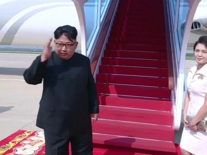 Kim in China - NK state TV video  2018-06-22T020850Z_1_LWD00145VWV2F_RTRWNEV_B_5102-NORTHKOREA-USA-CHINA-KIM.MPG 2018-06-22T020850Z_1_LWD00145VWV2F_RTRWNEV_C_5102-NORTHKOREA-USA-CHINA-KIM.MP4 North Korea's Kim Jong Un bolsters nuclear talks hand on China trip North Korea's Kim Jong Un bolsters nuclear talks hand on China trip skynews kim jong un 4342485