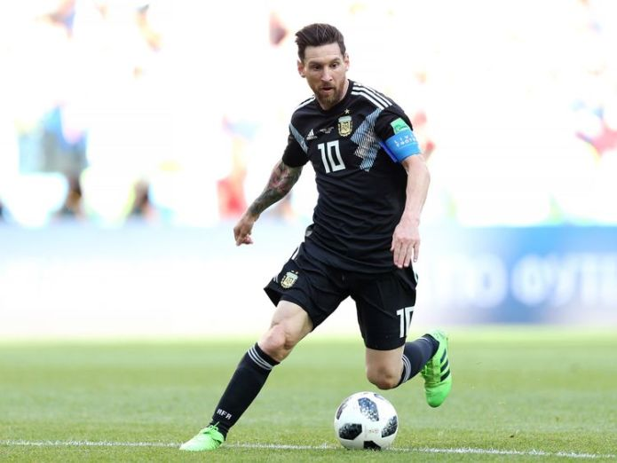 Lionel Messi Who is football's greatest player? Who is football's greatest player? skynews messi argentina football 4338033