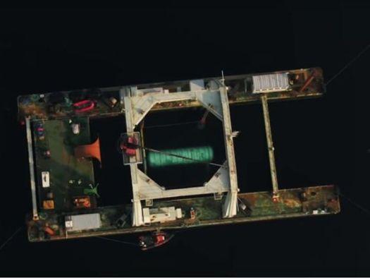 Microsoft-Rechenzentrum startete ins Meer