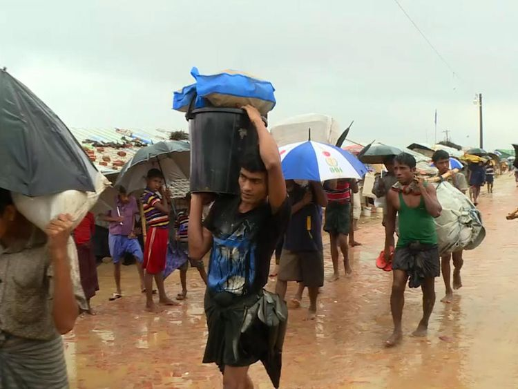 The monsoon season is endangering thousands of people's lives