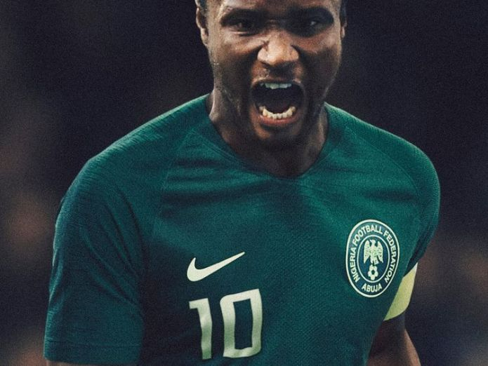 Pic: Nike Nigeria World Cup kit sells out with three million pre-orders Nigeria World Cup kit sells out with three million pre-orders skynews nigeria nike 4326133