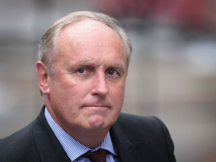 Paul Dacre, editor of The Daily Mail, arrives to give evidence to the Leveson Inquiry at The High Court on February 6, 2012 in London, England. The inquiry is being led by Lord Justice Leveson and is looking into the culture, practice and ethics of the press in the United Kingdom. The inquiry, which will take evidence from interested parties and may take a year or more to complete, comes in the wake of the phone hacking scandal that saw the closure of The News of The World newspaper. (Photo by P New Daily Mail editor announced as Geordie Greig, taking over from Paul Dacre New Daily Mail editor announced as Geordie Greig, taking over from Paul Dacre skynews paul dacre media newspapers 4329684