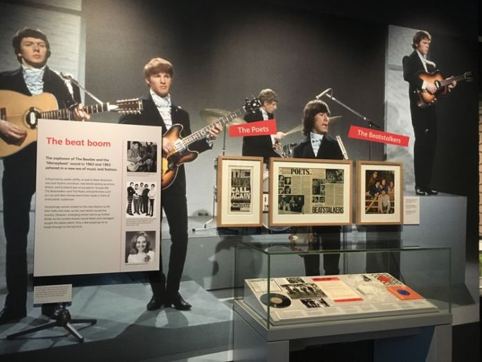 Scottish bands The Beatstalkers and The Poets feature in the exhibition Sixty years of Scottish music goes on display Sixty years of Scottish music goes on display skynews rip it up scotland 4342479