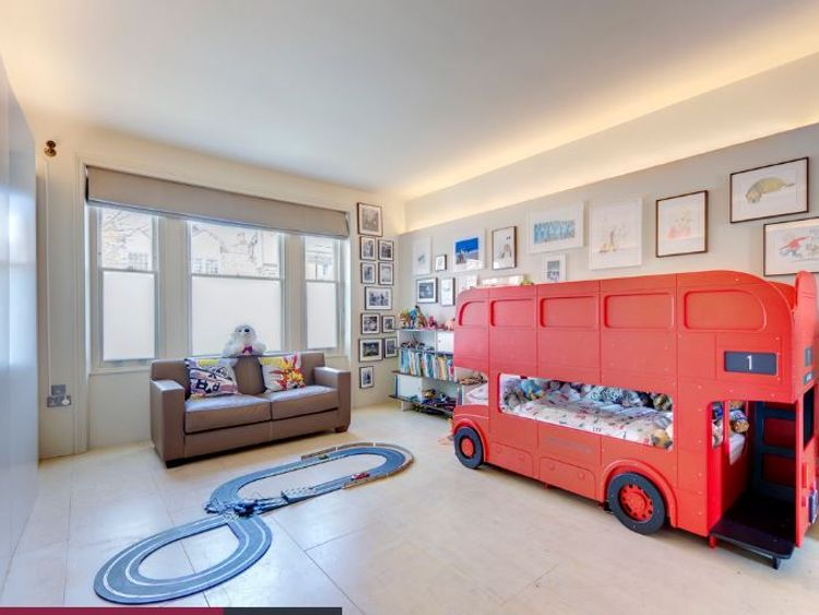 The interior is described as 'bright and spacious'