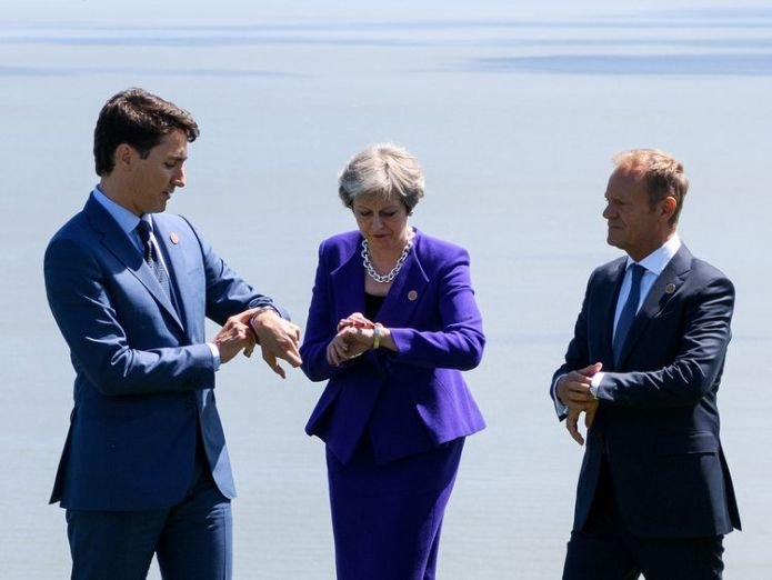 Theresa May is to hold another 'away day' at Chequers in a bid for Brexit cabinet consensus  The Chequers challenge: Mixing business and politics skynews theresa may g7 summit 4331390