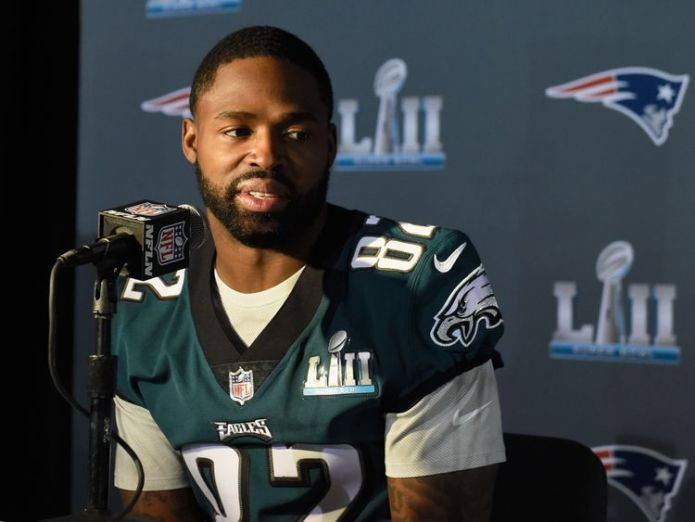 Torrey Smith did not intend to go to the White House Trump reignites NFL row by cancelling reception for Super Bowl champions Trump reignites NFL row by cancelling reception for Super Bowl champions skynews torrey smith nfl 4328322