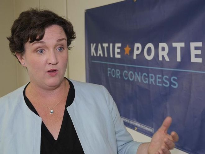Katie Porter is contesting a seat in Orange County