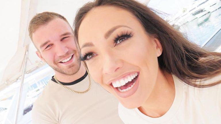 A picture posted by boyfriend Aaron Armstrong on Facebook confirming Sophie Gradon's death