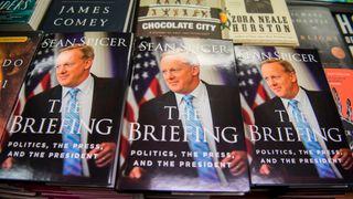 Sean Spicer's memoir The Briefing