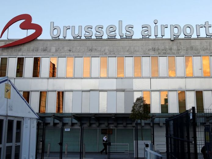 Brussels Airport handles around 650 flights a day  'Exceptional situation' as Belgium shuts entire airspace after technical glitch skynews brussels airport belgium 4366157