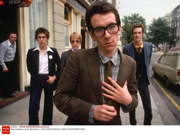 Elvis Costello and The Attractions in 1979  Elvis Costello cancels European tour after cancer operation skynews elvis costello 4354567