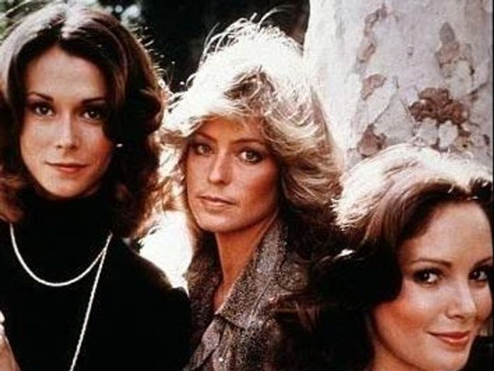 Farrah Fawcett, Kate Jackson and Jaclyn Smith in TV show Charlie's Angels  Kristen Stewart to star in Charlie's Angels reboot alongside British actresses skynews farrah fawcett kate jackson 4373151