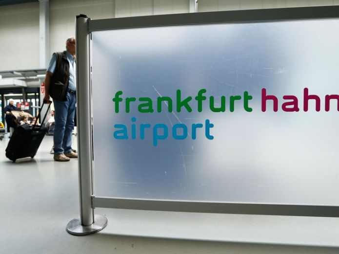 A passenger walks through the terminal of Frankfurt Hahn airport 100 kilometers (60 miles) west of Frankfurt, Germany June 6, 2016. REUTERS/Ralph Orlowski  More than 30 taken to hospital after Ryanair flight makes emergency landing in Frankfurt skynews frankurt airport 4361655