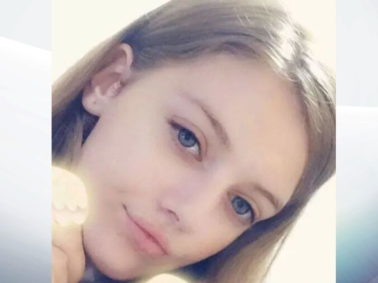Lucy McHugh had been reported missing on Wednesday