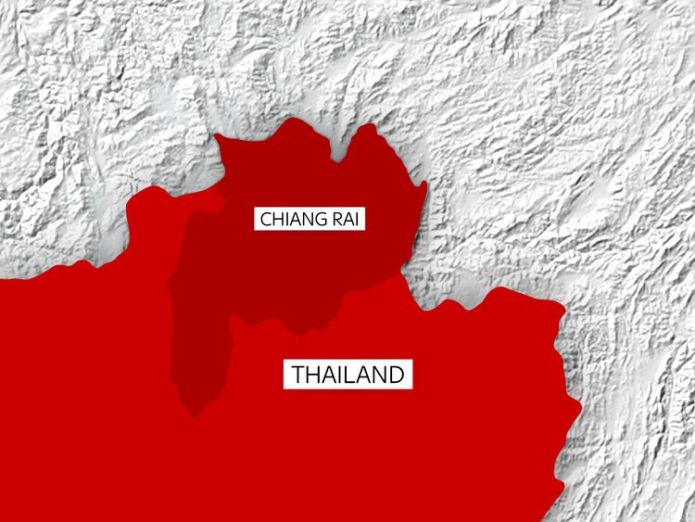 The cave is located in Chiang Rai  Major operation underway to divert water from Thai footballers' cave skynews thailand chiang rai 4352922