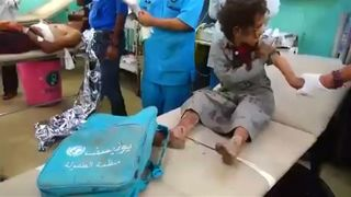 Dozens of people, many of them children, have been killed in a Saudi-led coalition air strike in rebel-held northern Yemen.  Saudi-led airstrike on Yemen bus 'a war crime', says Human Rights Watch skynews yemen airstrike 4384811