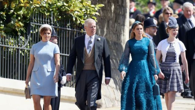 Eugenie wears Gainsborough to the wedding of Prince Harry and Meghan