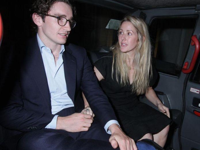 Caspar Jopling and Ellie Goulding  Ellie Goulding announces engagement to Caspar Jopling skynews caspar jopling ellie goulding 4382774