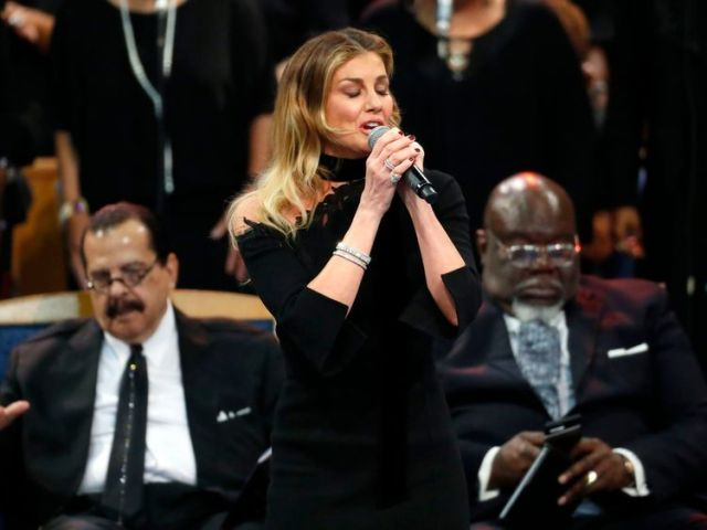 Faith Hill performs What A Friend We Have In Jesus