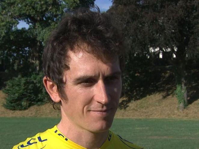 Geraint Thomas discusses his Tour de France win on Sky News