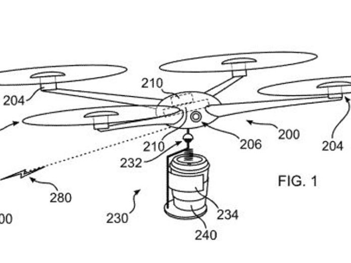 IBM's coffee drone can detect when you need a drink Pic: IBM  IBM files patent for coffee delivery drones that can predict when you need a drink skynews ibm coffee drone 4398127