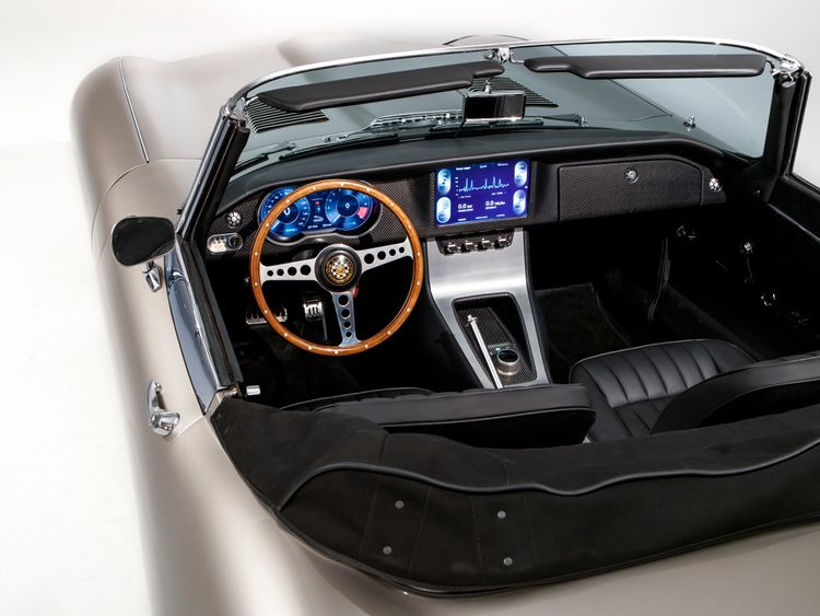 Current E-type owners can have their cars converted to electric. Pic: Jaguar
