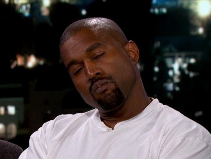 Kanye West on Jimmy Kimmel Live! Pic: ABC  Trump thanks Kanye West for telling 'TRUTH' after appearance on US talk show skynews kanye west jimmy kimmel live 4386603