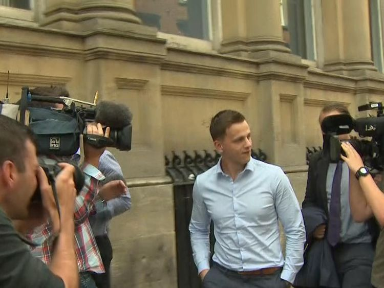 Ryan Hale not guilty of affray