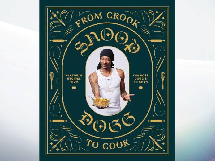 The cover of Snoop Dogg's first cookbook  Snoop Dogg releasing his first cookbook: 'From Crook To Cook' skynews snoop dogg cookbook 4398553