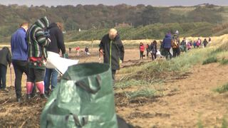 Thousands cleaned beaches across the UK this weekend.