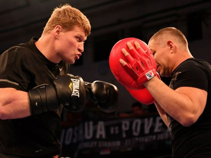 Alexander Povetkin  Brit 'ready to end opponent's career' to defend heavyweight titles povetkin joshua boxing 4426826