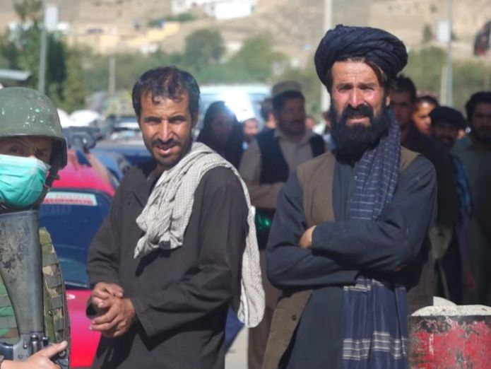 Islamic State fighters in Afghanistan 'in touch with UK cells' skynews bunkall afghanistan 4409757
