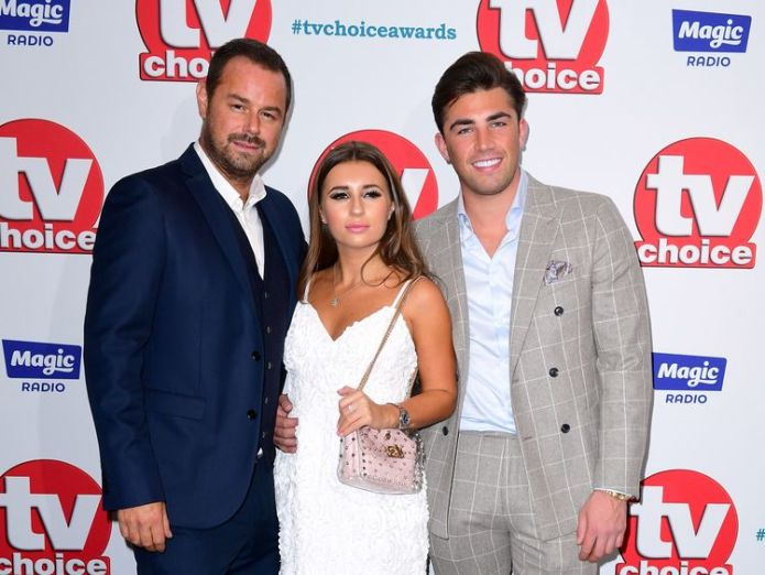 Danny Dyer, Dani Dyer and Jack Fincham (right) attending the TV Choice Awards at the Dorchester Hotel, Park Lane, London. PRESS ASSOCIATION Photo. Picture date: Monday September 10, 2018. See PA story SHOWBIZ TVChoice. Photo credit should read: Ian West/PA Wire  Danny Dyer thanks David Cameron as he wins soap actor award for Eastenders role skynews danny dyer dani dyer 4417580