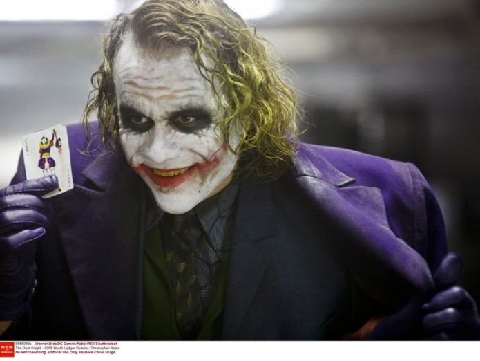 Heath Ledger is the last actor to have played the infamous Joker  First image of Joaquin Phoenix as the Joker skynews heath ledger joker 4429307