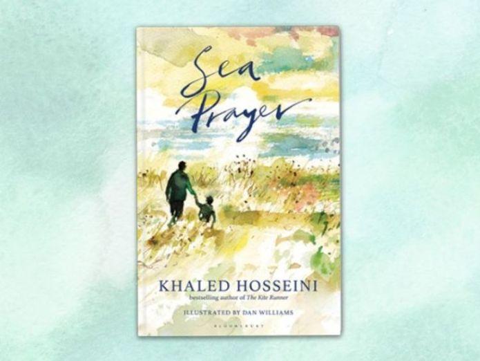 Sea Prayer by Khaled Hosseini. Pic: UNHCR  'Memory of tragic Alan Kurdi death is fading' skynews khaled hosseini sea prayer 4410189